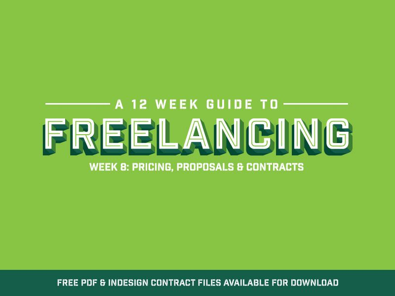 Freelance Contract Templates  Free Download By Peter Deltondo