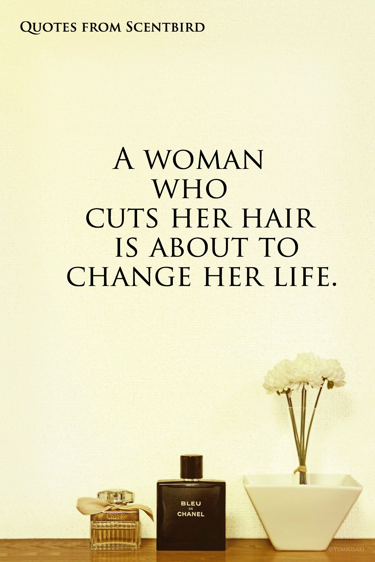 When A Woman Cuts Her Hair  Uphairstyle