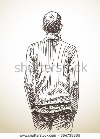 Image Result For Back Of Man Sitting Drawing Guy Drawing Outline Drawings Art Drawings Simple