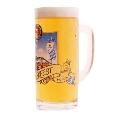 chope à bière 25 cl oktoberfest paulaner | verres a bières