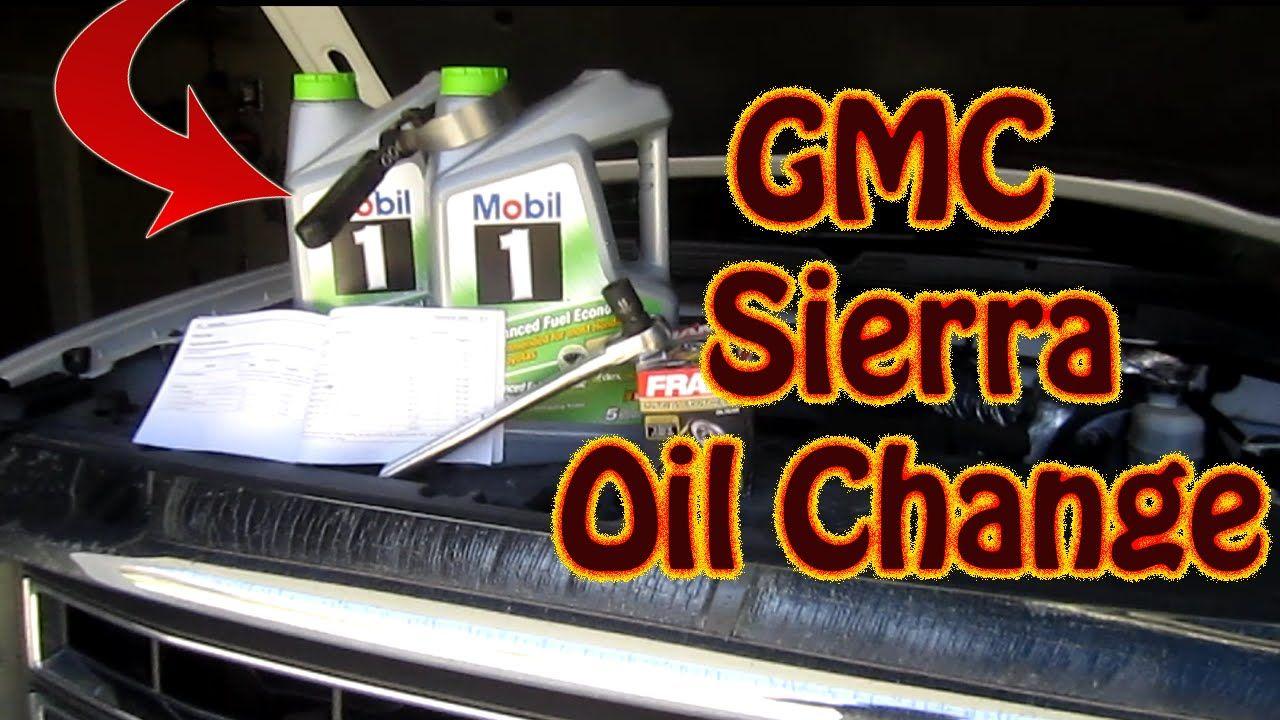 Diy Oil Change On A 2014 Gmc Sierra Pickup Chevy Silverado Oil