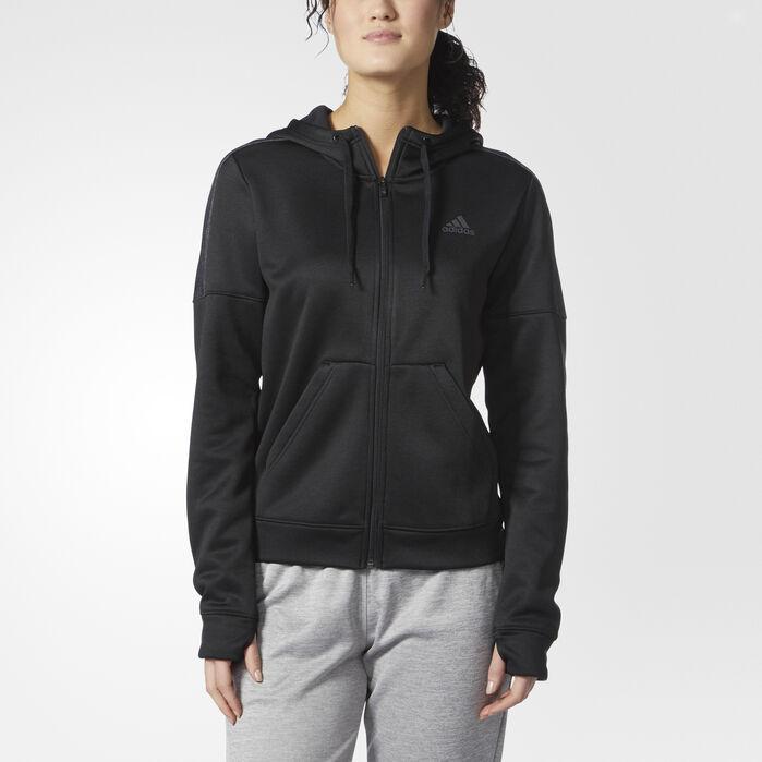 Team Issue Hoodie | Black hoodie, Adidas women, Black adidas