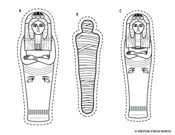 Egyptian Sarcophagus Craft Build Your Own Sarcophagus Ancient