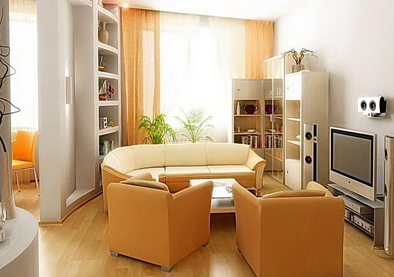 Small Space Design Ideas Living Rooms The Placement Of A Chair And