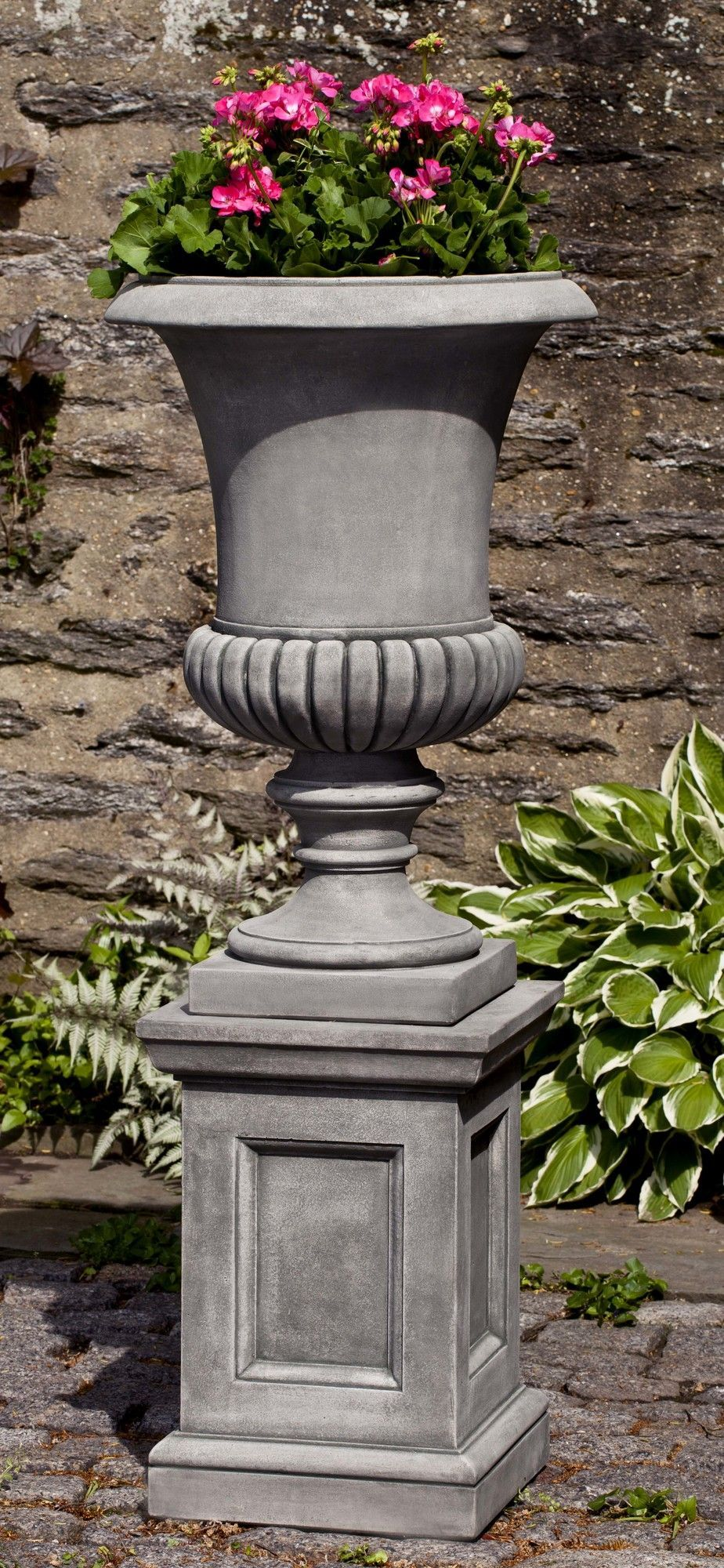 Novelty Pedestal Planter Urn Planters Garden Urns Outdoor Urns