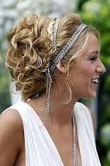 Too out-there for bridesmaid hair? (without all the chain)