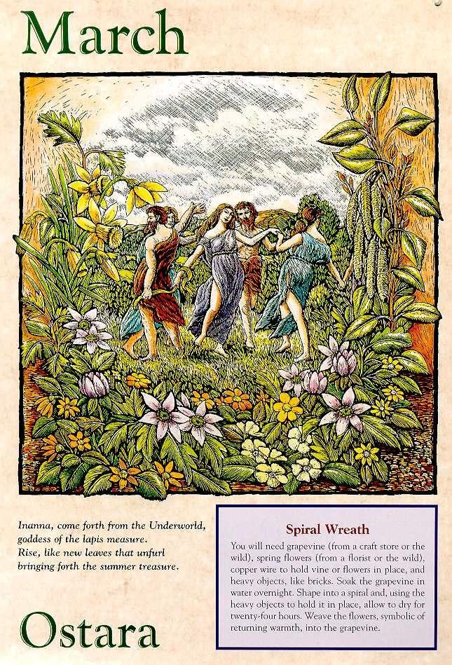 Ostara Pagan Wicca Vernal Equinox