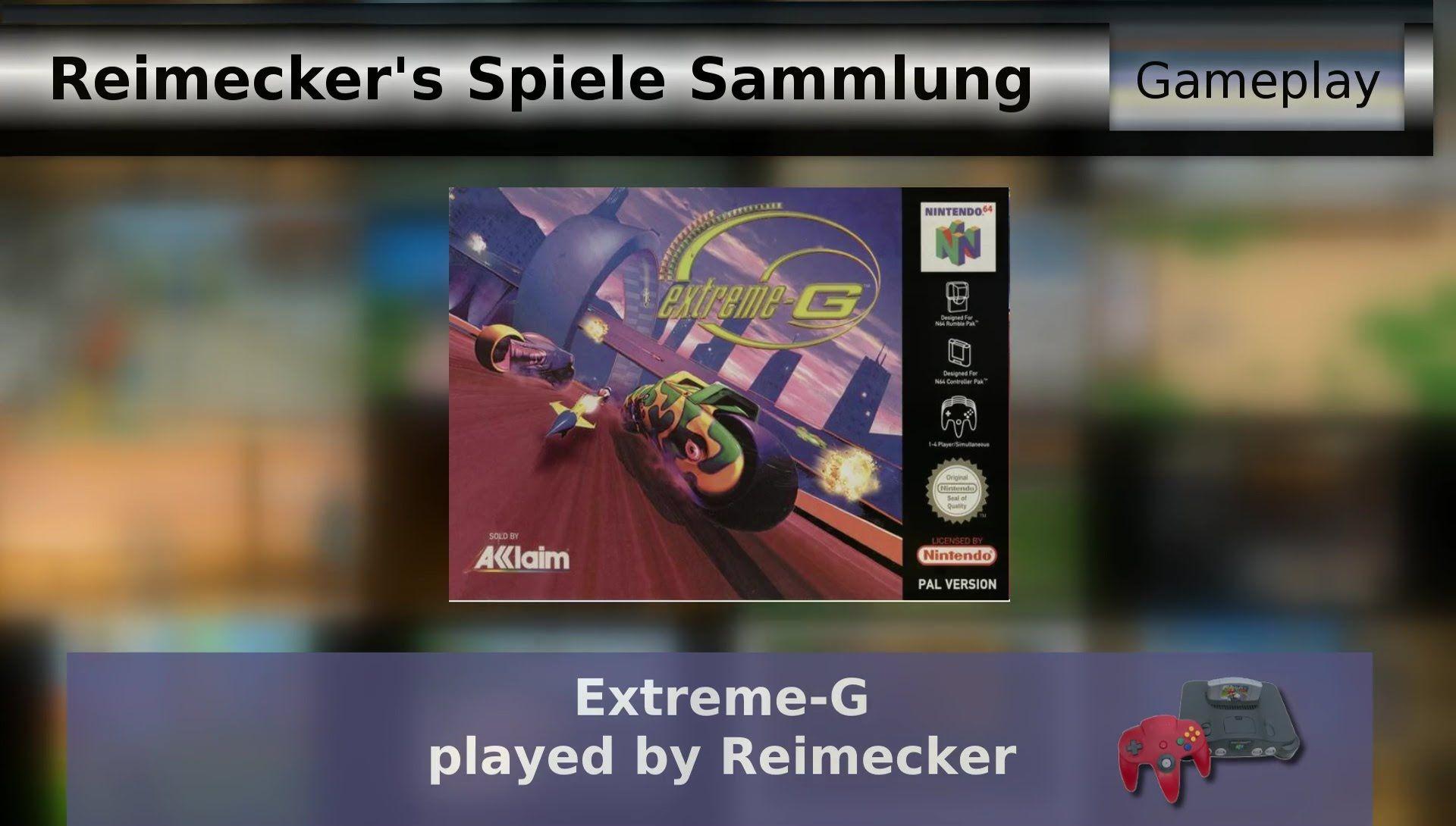Gameplay : Extreme G [Nintendo 64]