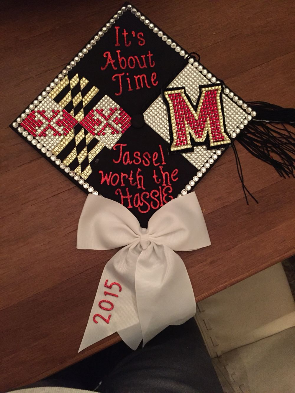 UMD graduation cap design | Senior 2k16 | Pinterest | Cap, Grad cap ...