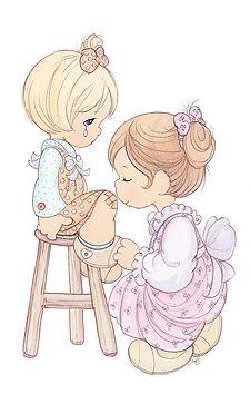 precious moments photo: Precious Moments  www.preciousmoments.com blessing_mother2.jpg