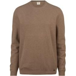 Photo of Olymp Level Five Strick Pullover, body fit, Taupe, Xxl Olympolymp