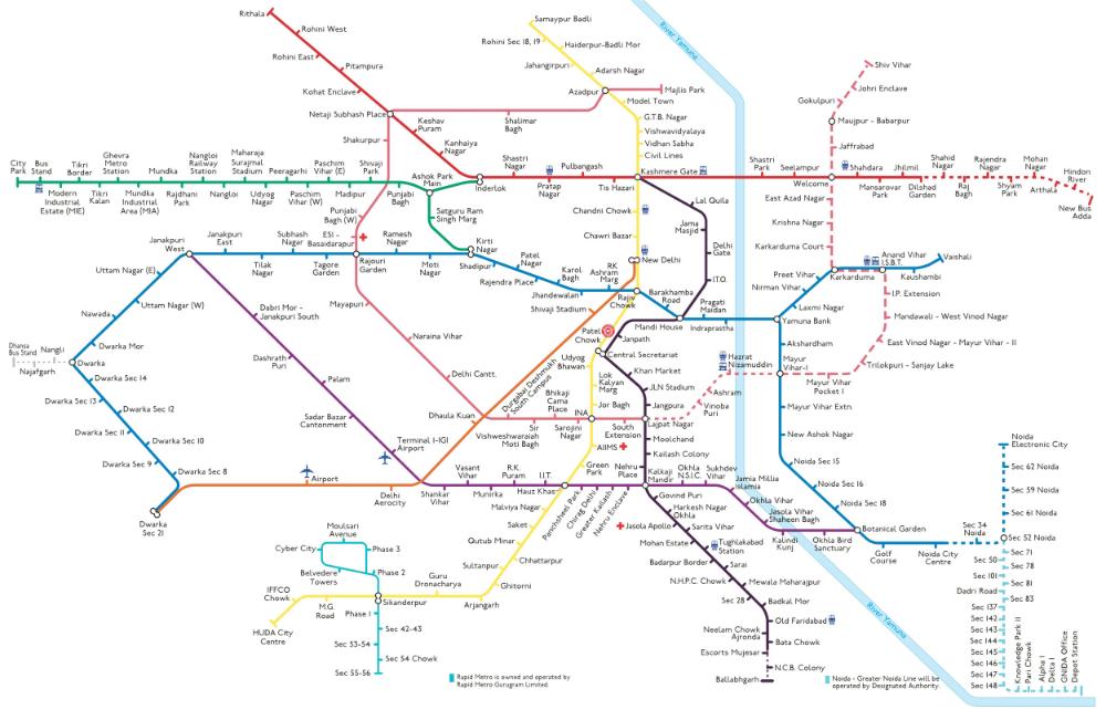 Metro 😍 download delhi map Mapway