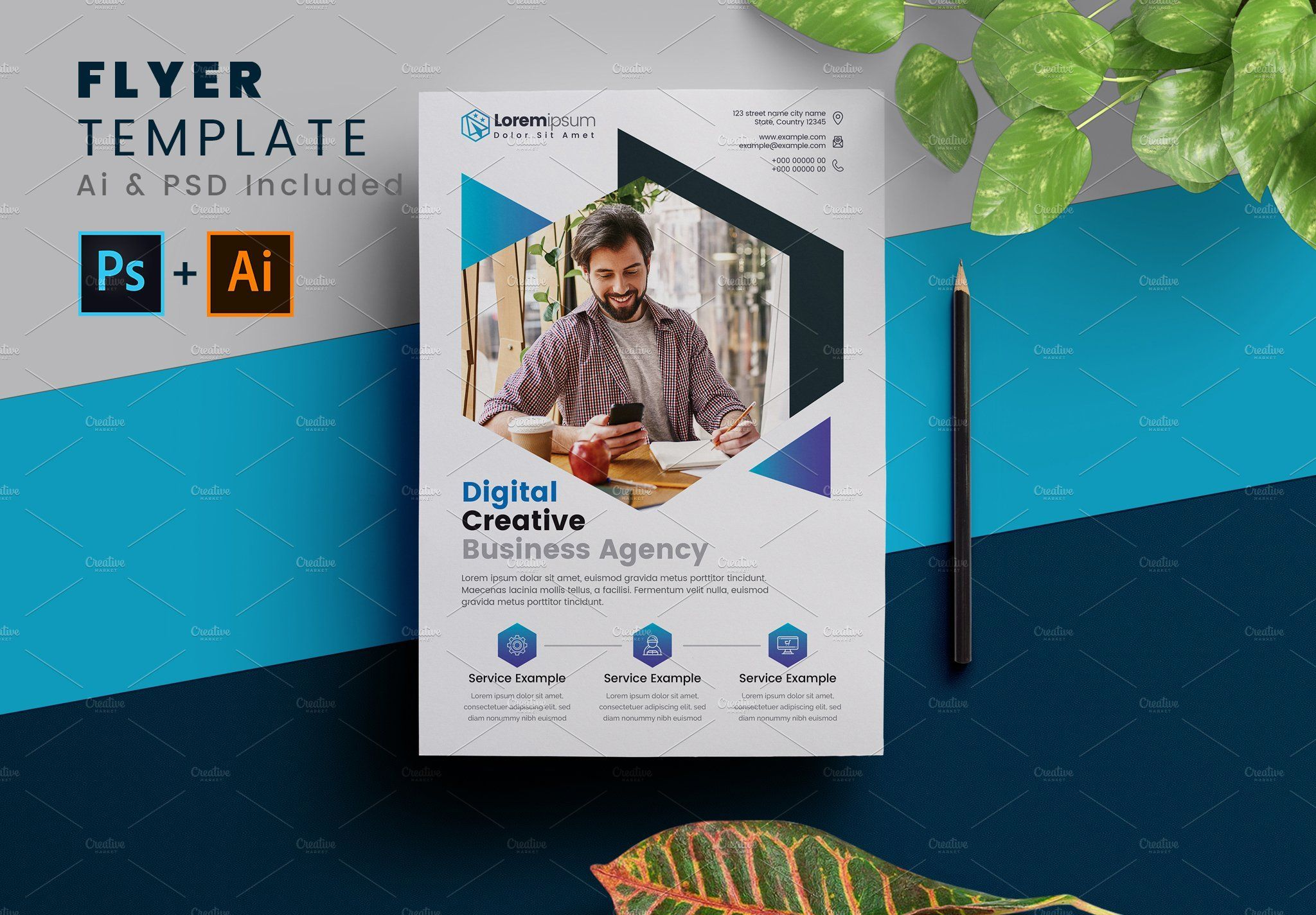 Corporate Flyer Poster Template Excellent Flyer Template For