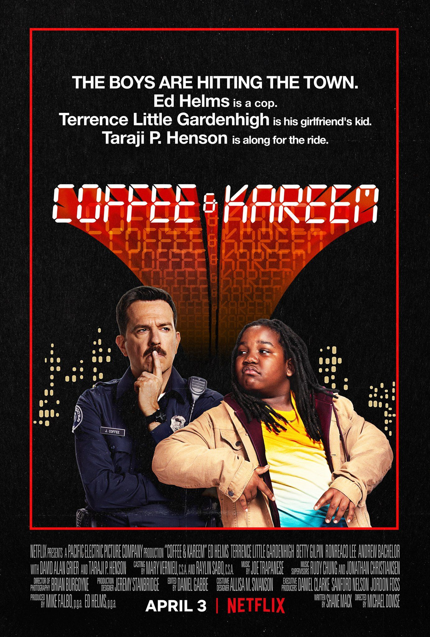 'Coffee and Kareem' (2020) Official Poster in 2020 New