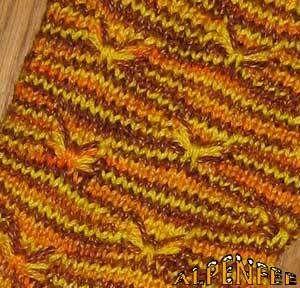 Photo of Bienchensocken – Socks in Little Bee Pattern