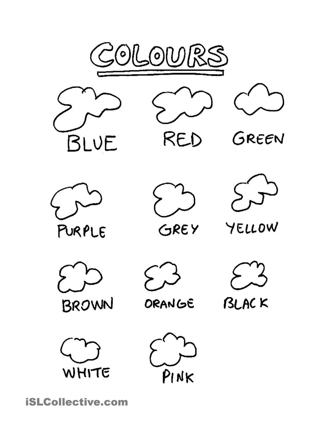 Presenting colours | english for children | Pinterest | English