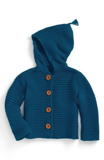 6193b58c4 Stem Baby  Lofty  Organic Cotton Hooded Cardigan (Baby) available at ...