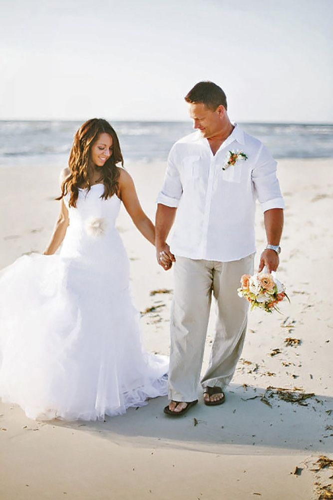 24 Men\'s Wedding Attire For Beach Celebration | Future Mrs. Sanders ...