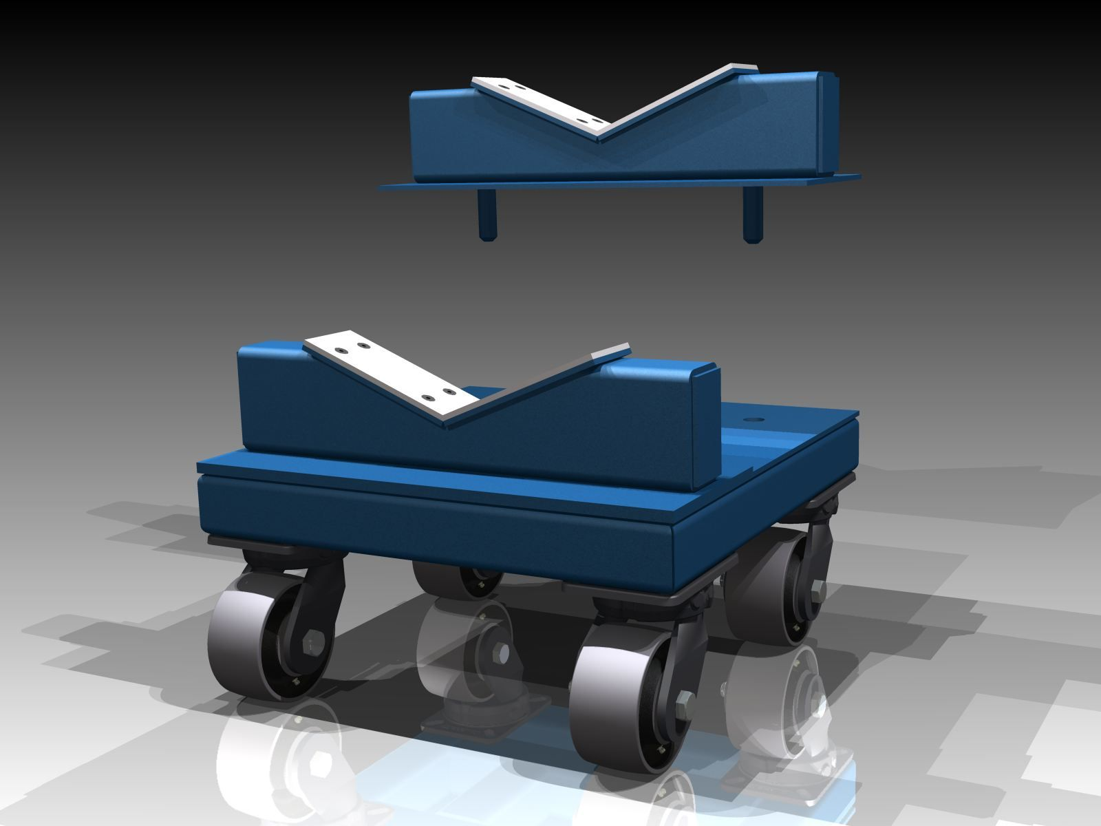 Heavy Duty Material Handling Dollies