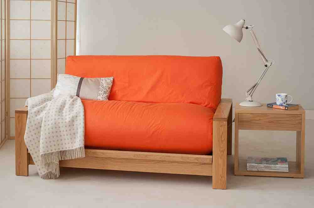Orange Futon Cover Sofa Bed Sheets Comfortable Futon Futon Sofa