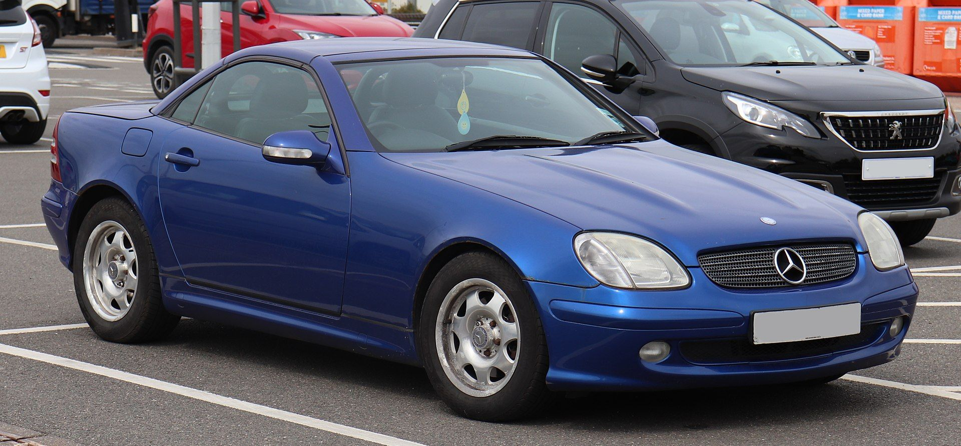 2004 Mercedes Benz Slk200 Kompressor 2 0 Facelift Front Mercedes