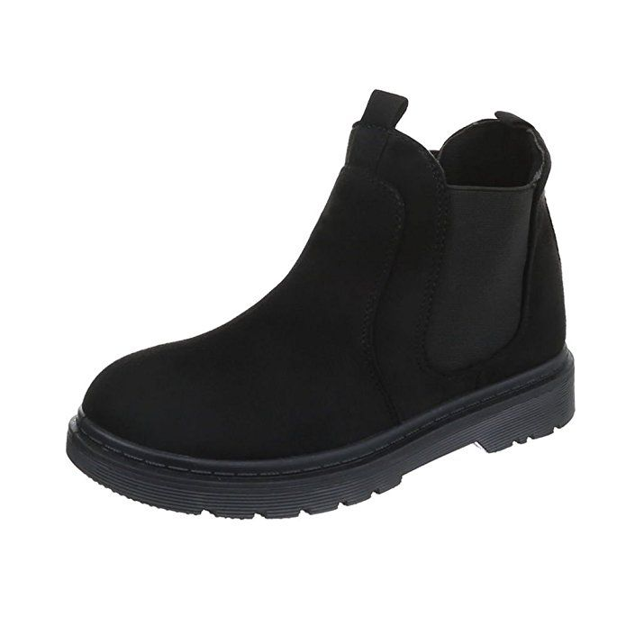 9f35aeea36ddda Chelsea Boots Damenschuhe Chelsea Boots Blockabsatz Moderne Ital-Design  Stiefeletten  Amazon.de