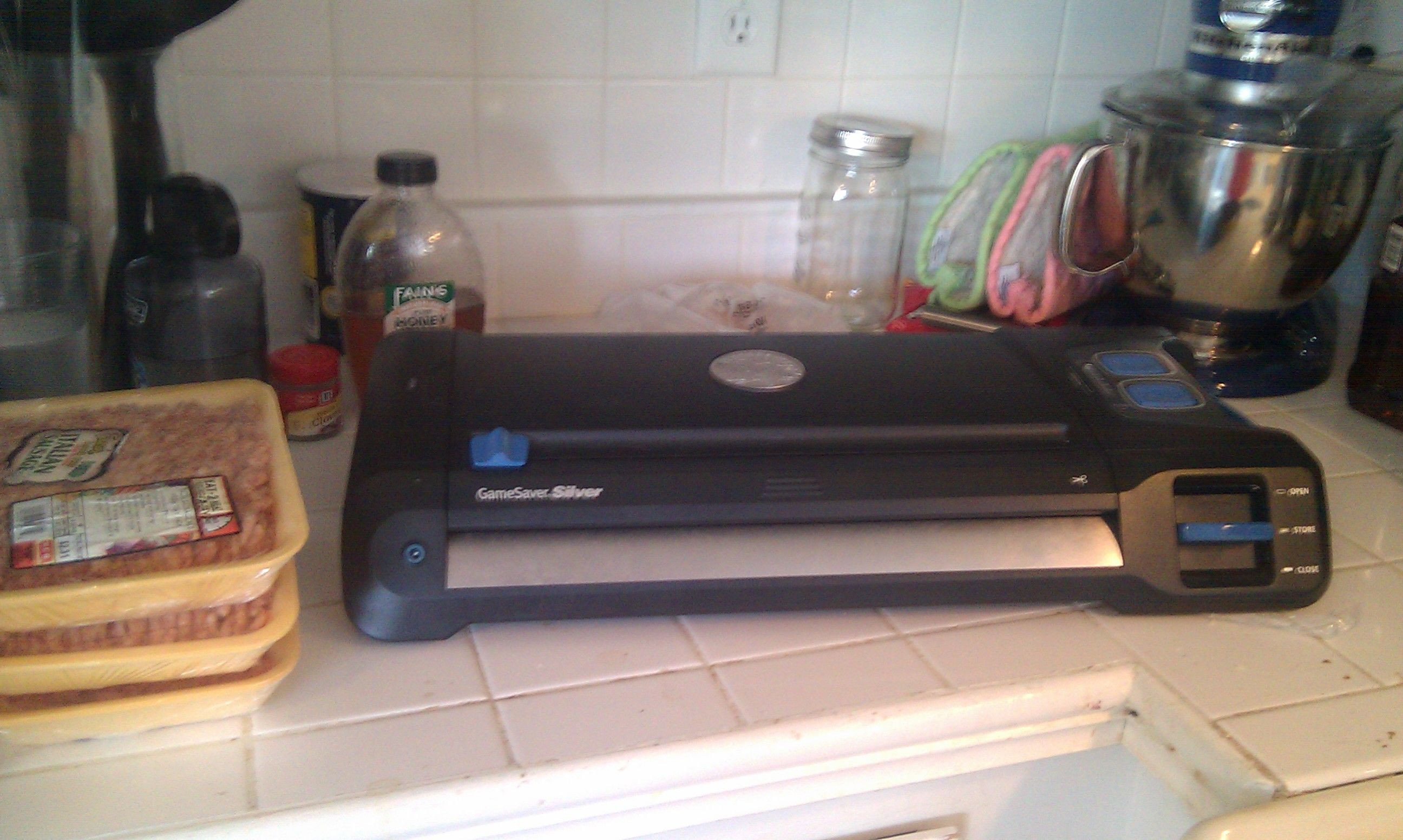 My vacuum sealer allows me to be a hoarder with purpose. If impending doom occurs, I will have chicken to last a year.