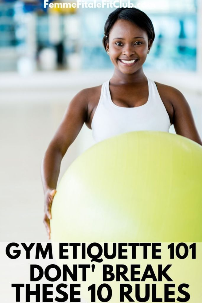 Gym Etiquette 101_ Don't Break These 10 Rules #gymetiquette #gymrules #gymprotocol #fitness #exercis...