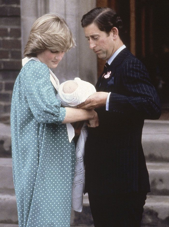 Prince William is introduced to the World
