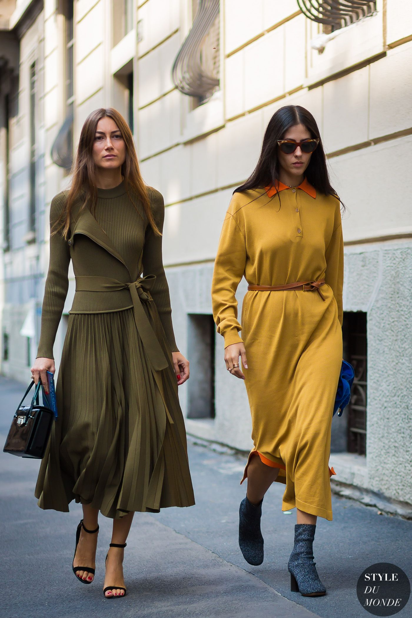 1bb56a16a8 Giorgia Tordini and Gilda Ambrosio by STYLEDUMONDE Street Style Fashion  Photography