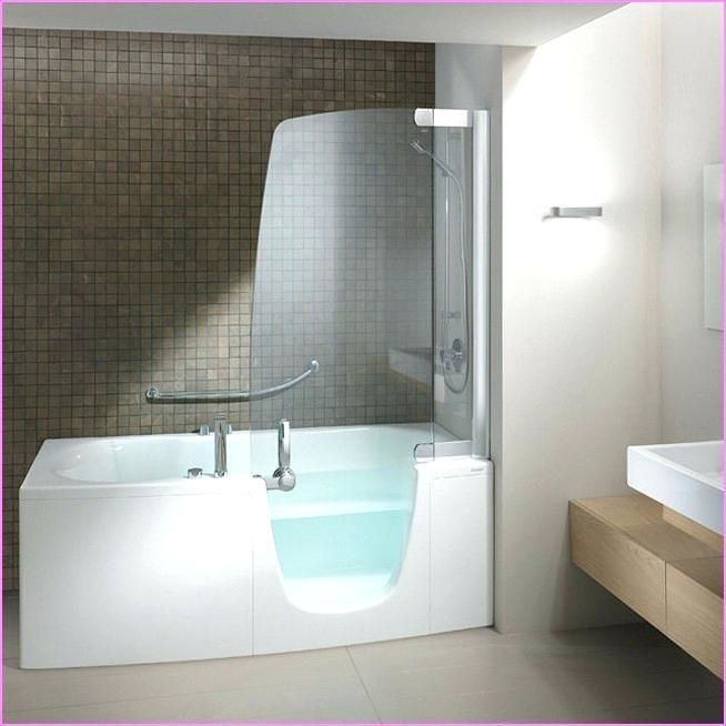 Whirlpool Tub With Shower Replacing Stall Corner Jacuzzi Bath