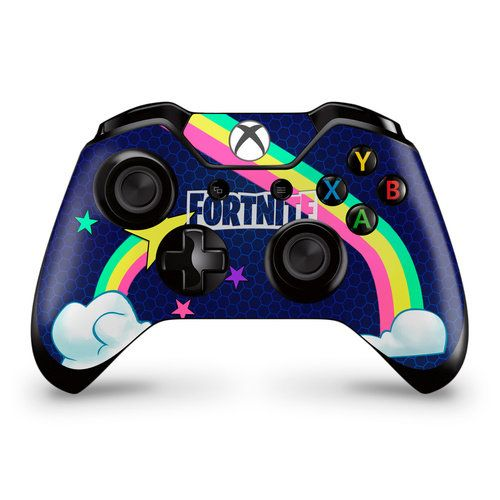 Rainbow Rider Xbox One Controller Skin Fortnite Fan Art Random