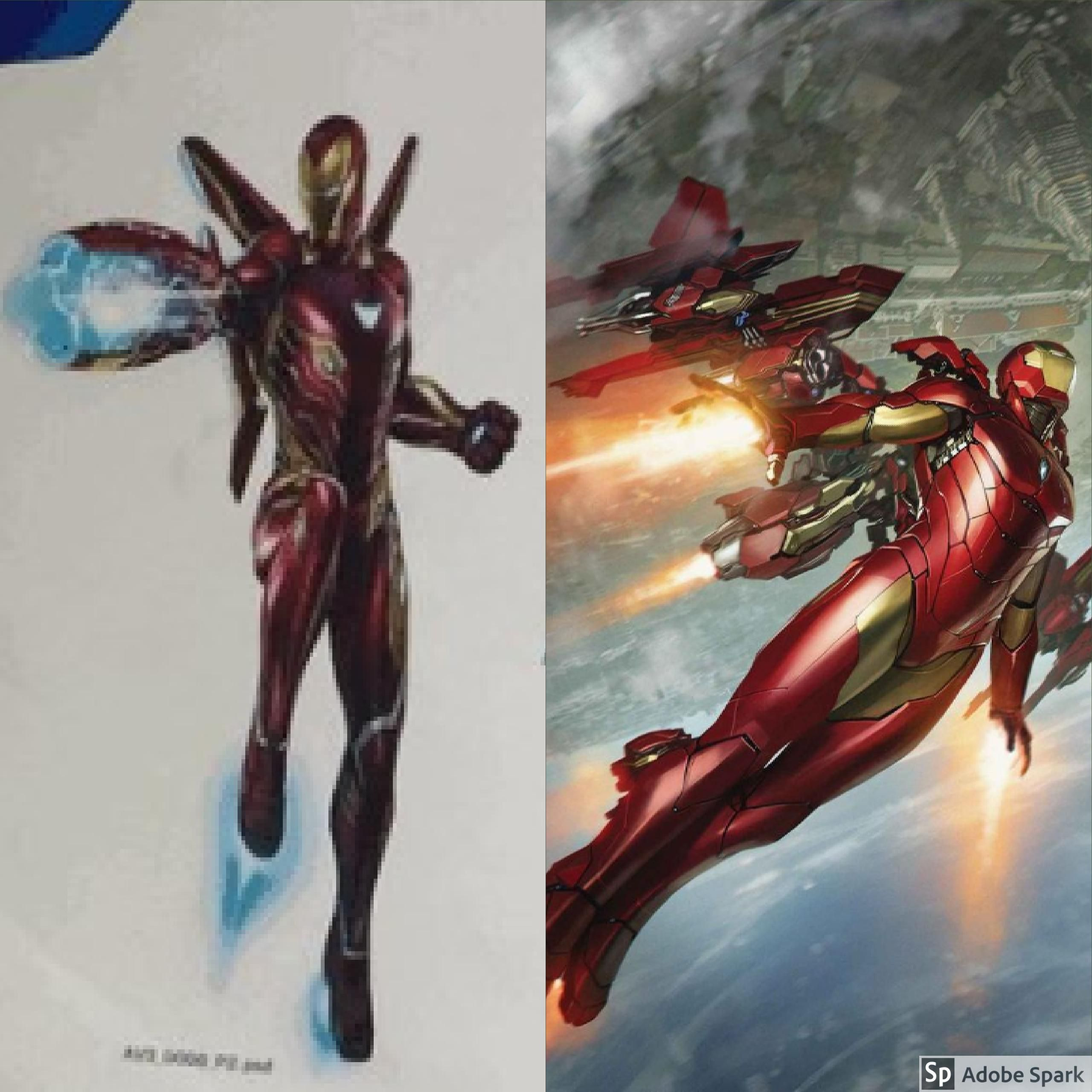 Iron Man's Infinity War Armor is inspired by Bendis's new