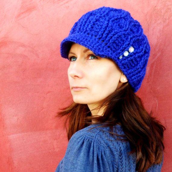 Lara Hat Crochet Pattern   Croché, Etsy y Patrones de ganchillo