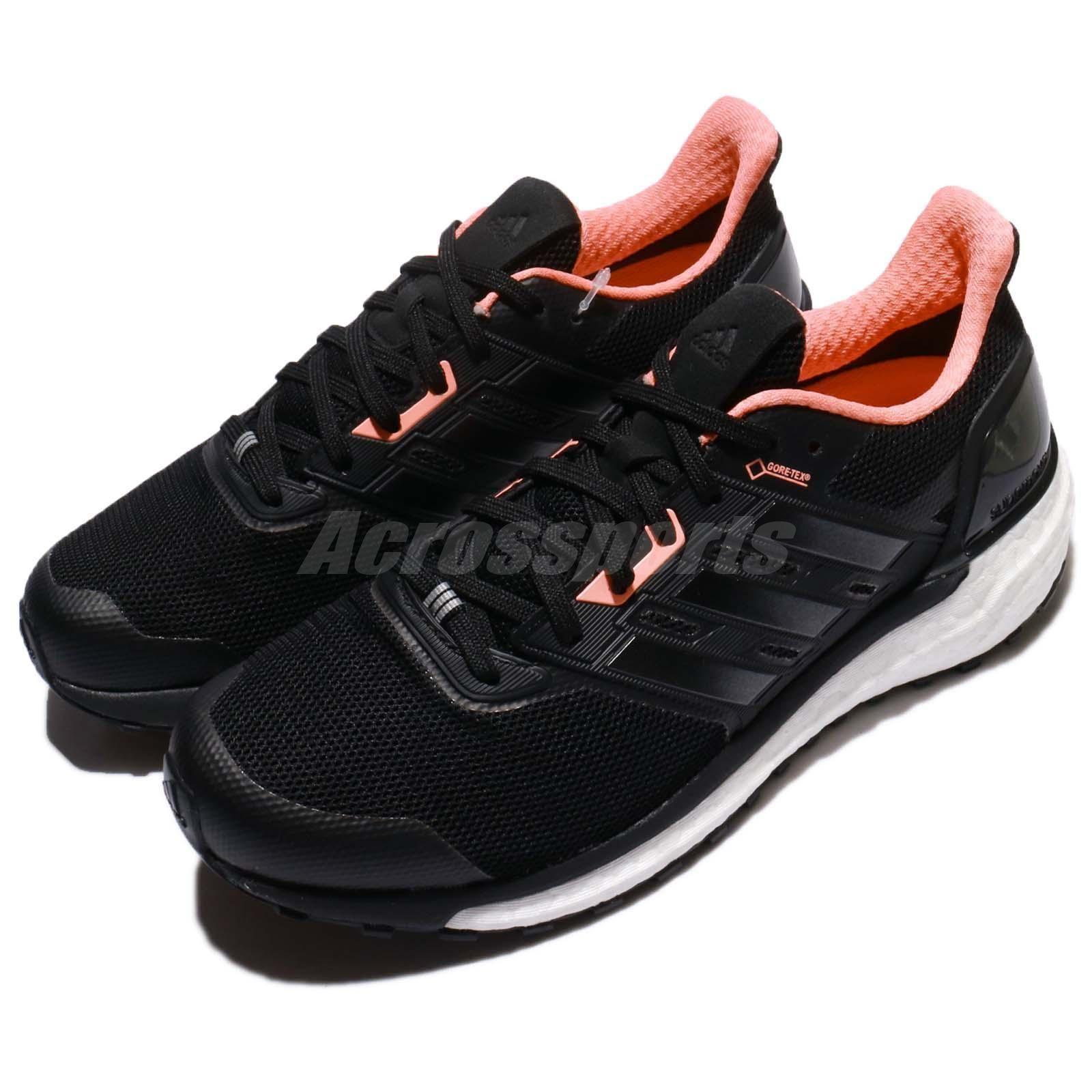 8d8e0d8a7 adidas Supernova GTX W Gore-Tex Black Pink White Women Running Shoes BB3671