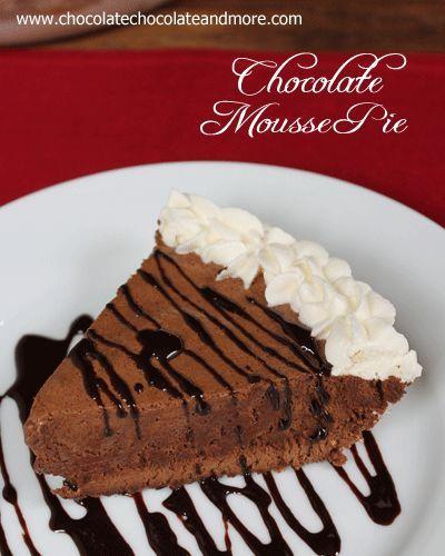 Schokoladenmousse-Torte   - ~ Cobblers, Crisps, & Pies, & Tarts ~ -