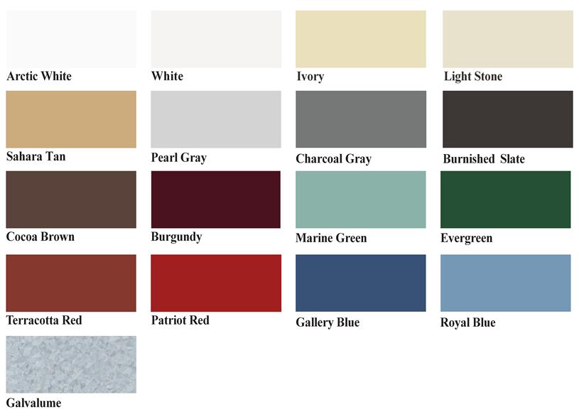 Painting Metal Roof Panels | Metal Roofing | Best Buy Metals