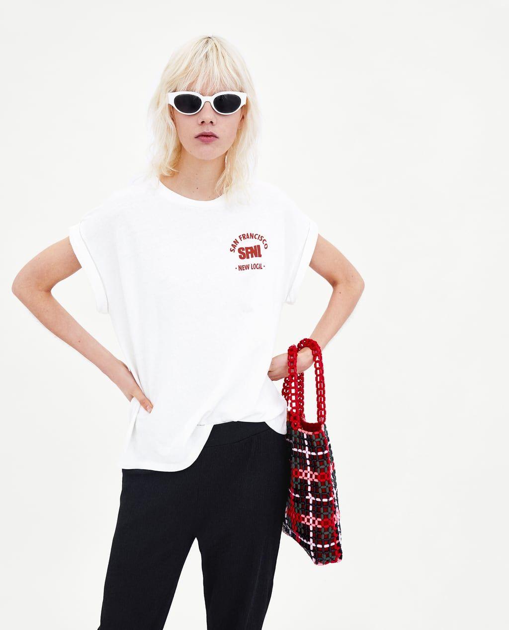 Para MujerNueva Zara Colección España Camisetas Online rChQsBdtx