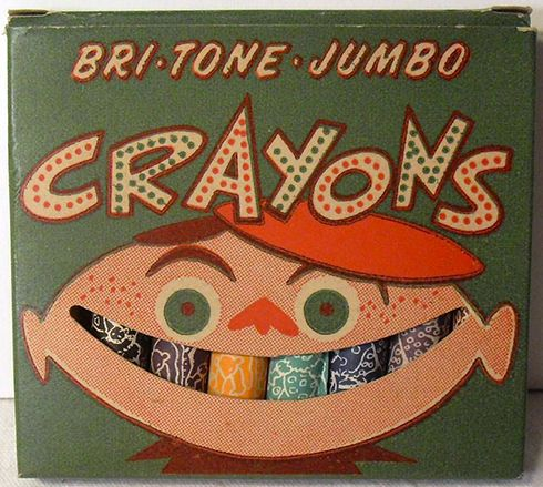 Vintage-smiling-crayon-package-design | Product & Packaging ...