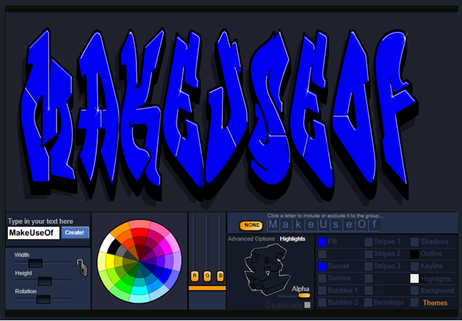 Write Your Name Graffiti Style Using the Graffiti Creator