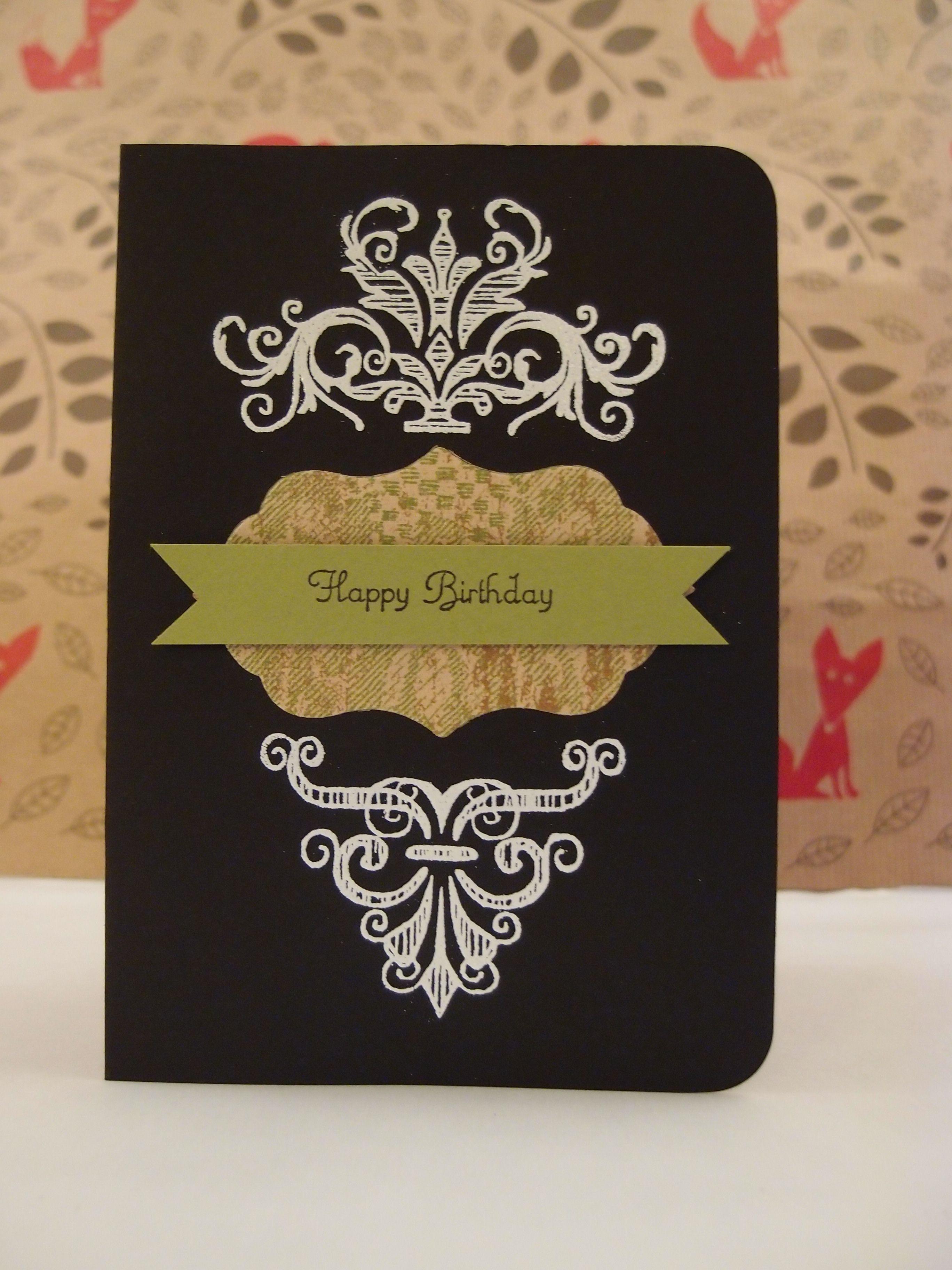 Victorian Gothic Birthday Card Birthday Cards Bday Cards Cards