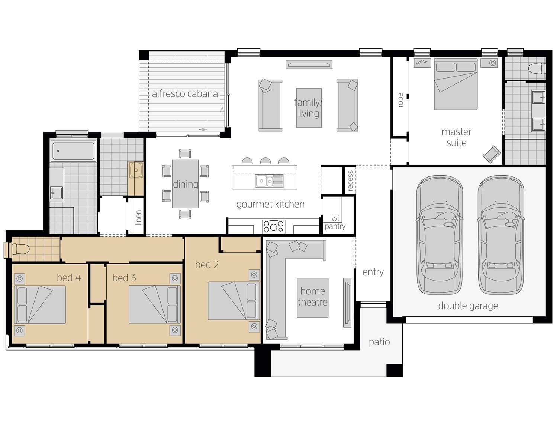 The Eaton Corner Block House Design Mcdonald Jones Homes Duplex Floor Plans Mcdonald Jones Homes House Design