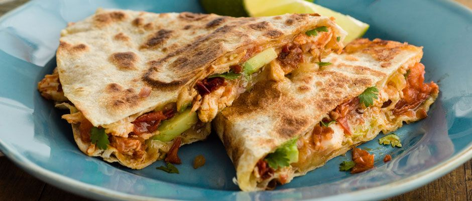 Curtis Stone | Chipotle Chicken Quesadillas  One of my all time favorite recipes