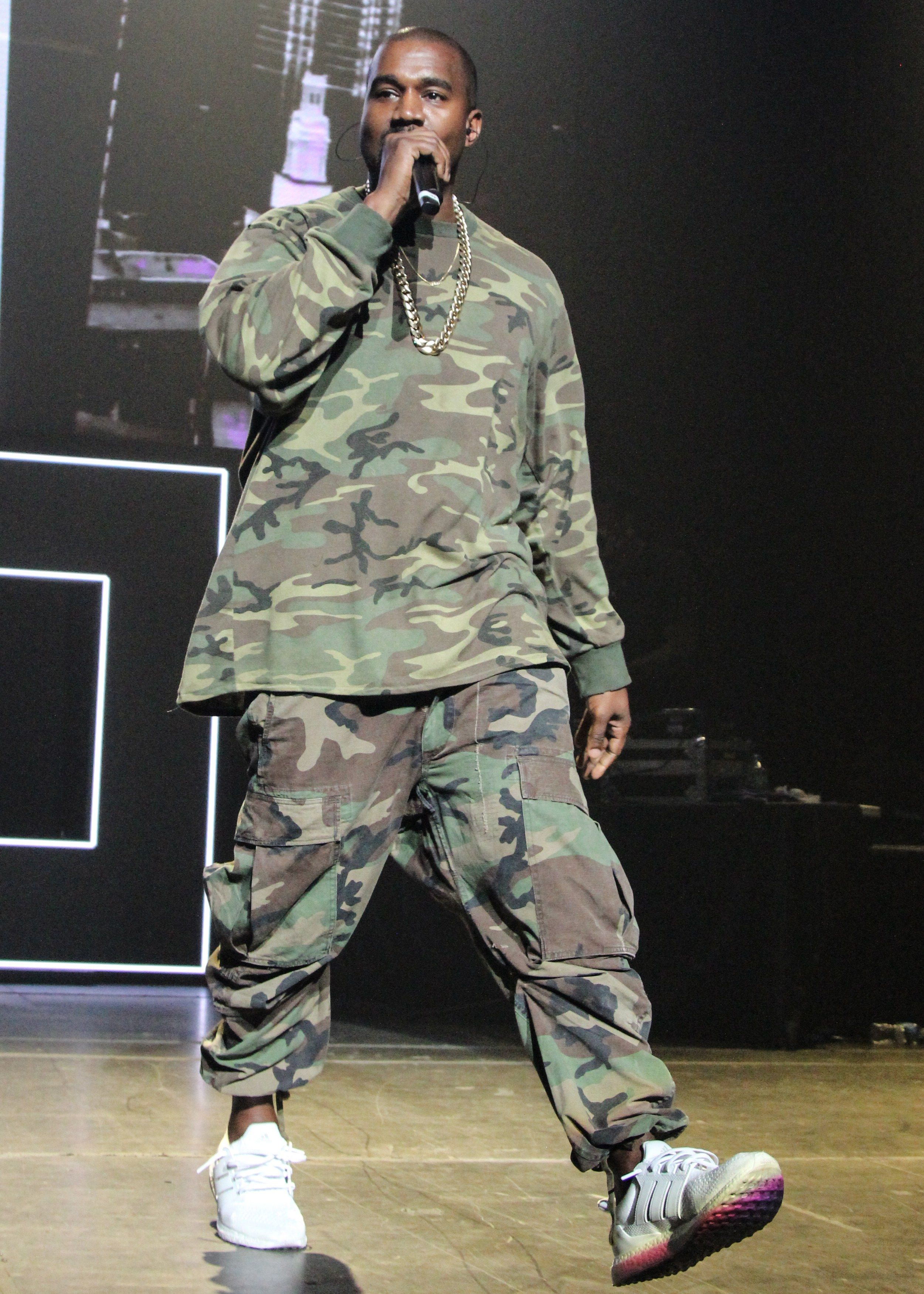 aa64d4e8e3590 All of Kanye West s Best and Wildest Outfits in 2019