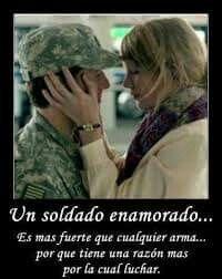 Militar Enamorado Con Imagenes Amor Militar Frases Amor