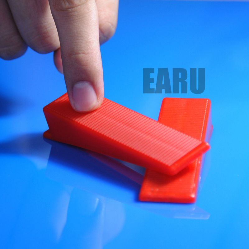 100pcs Wedges Plastic Tile Leveling System Wedge Tile Spacer Accessories Floor Leveler Eu A02 Jewelry Wome Plastic Tile Tile Leveling System Tile Spacers