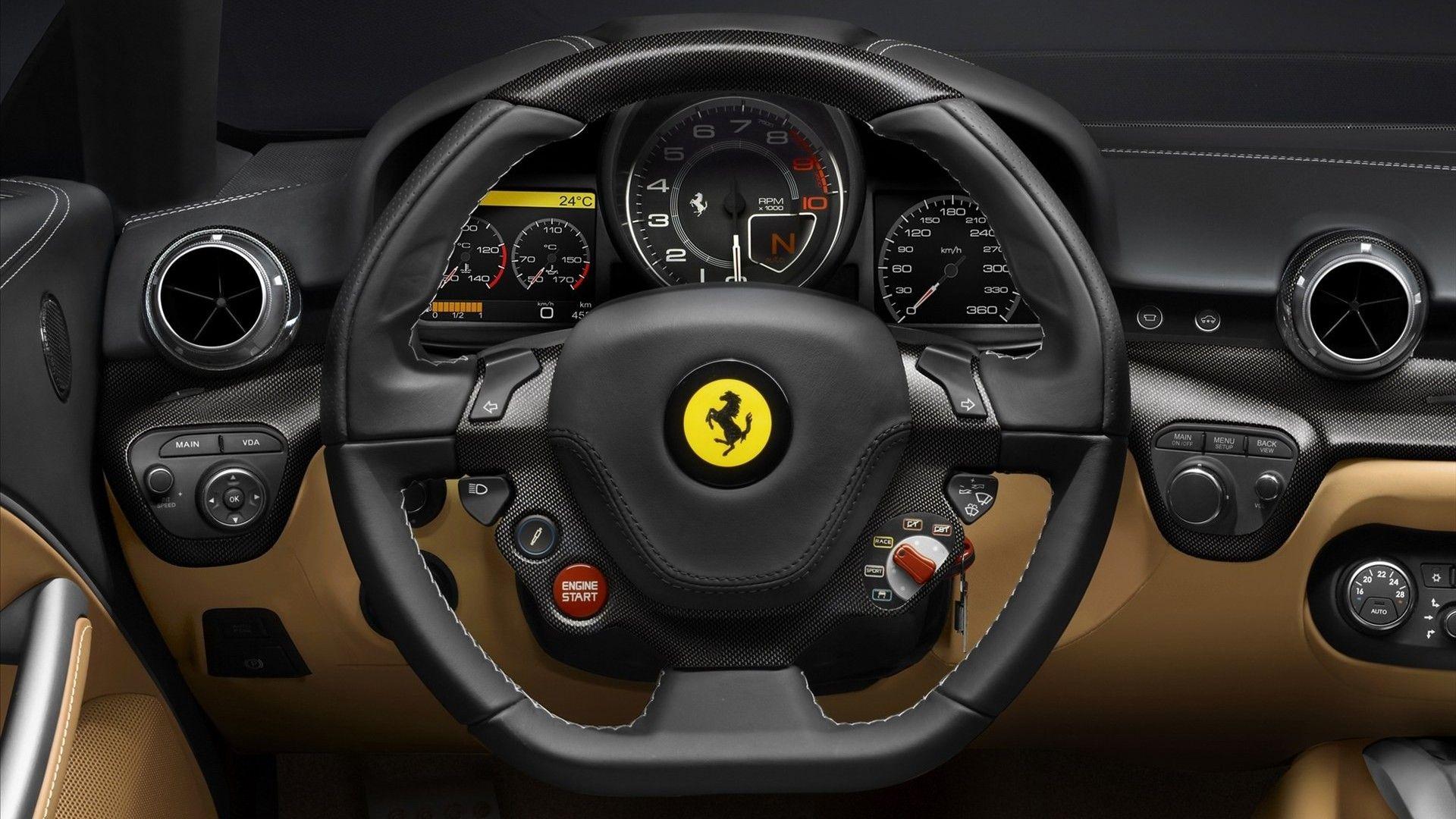 Perfect Ferrari F12 Berlinetta Interior 2618 (1920×1080)