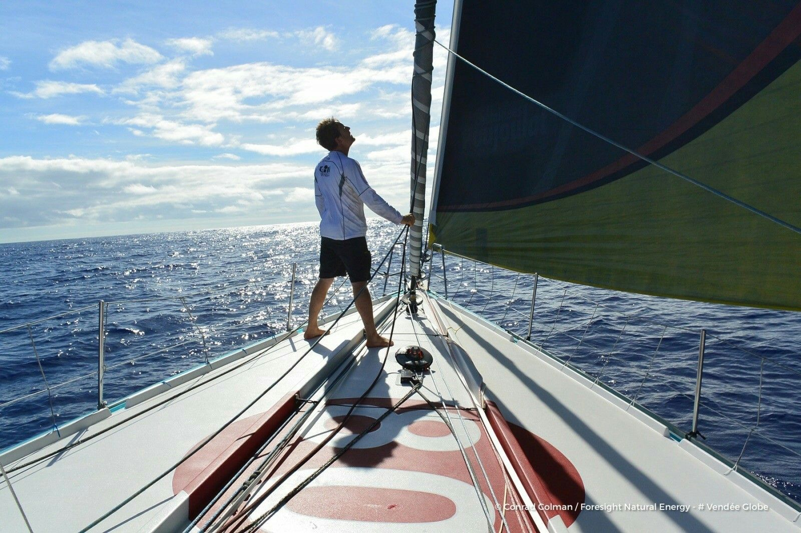 Photo sent from the boat Foresight Natural Energy, on November 22nd, 2016 - Photo Conrad ColmanPhoto envoyée depuis le bateau Foresight Natural Energy le 22 Novembre 2016