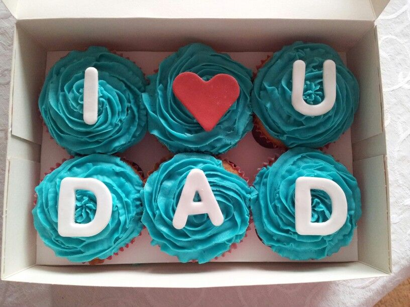 Fathers Day Cupcakes Dad Birthday Cakes Fathers Day Cake