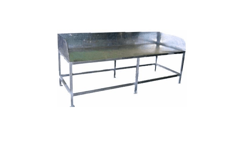 10 easy pieces industrial style potting benches potting table rh pinterest com